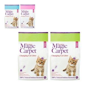 매직카펫 고양이모래 7kg X 2개 스몰포테이토 클래식 로우트렉 3종 모음