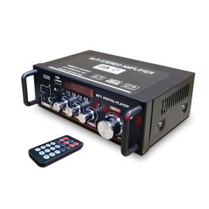 블루투스 오디오 앰프 HIFI 스피커 USB/SD/FM+리모컨