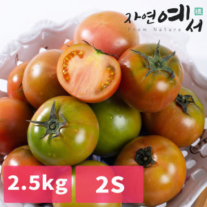 부산 대저토마토 2.5kg(2S)짭짤한 제철 당일수확