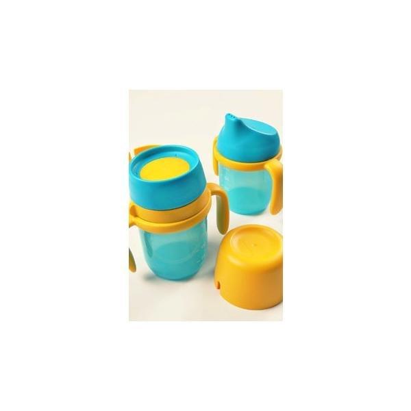타파웨어) 트윙클 탑 컵 세트 (2p) 아이들 컵 연습