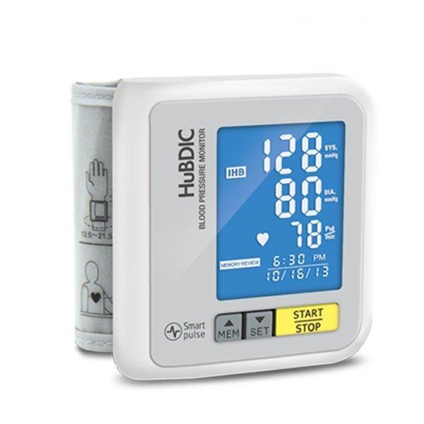 HBP-700Pro 화이트 자동전자 손목혈압계 혈압측정G