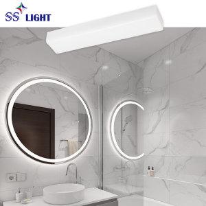 욕실등 LED 사각 스노우 20W