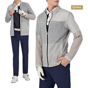 PGA 남성 퍼포먼스 라운딩 스윙 재킷 POM02JK101