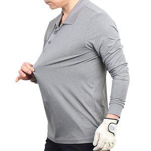 기능성 스트레치 카치온 스판 남성 골프 카라 티셔츠