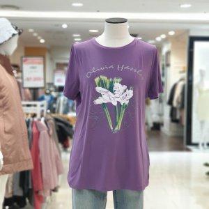 올리비아하슬러  모다아울렛 oh0mts905a라운드기본티셔츠