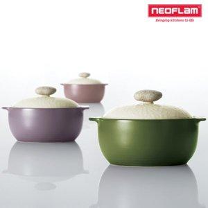 네오플램 네이처쿡 뚝배기 키즐 3종세트(12+16+18cm)