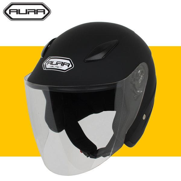 AURA 오토바이헬멧 오픈페이스 일반모 바이크 헬맷