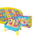핑크퐁 매직테이블 모래놀이 + 매트 세트 l 아이의 놀이공간 매트 안에서 깔끔하게 모래놀이해요