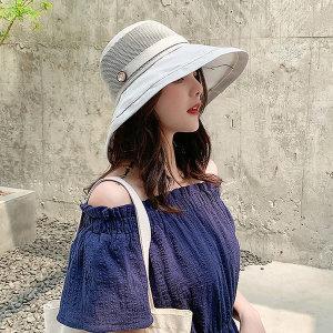 썬캡 자외선차단 모자 여성 햇빛가리개 여름 바캉스