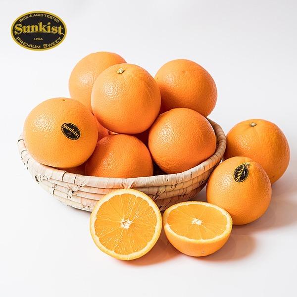 블랙라벨 오렌지 썬키스트 고당도 88과 중과 1박스17kg