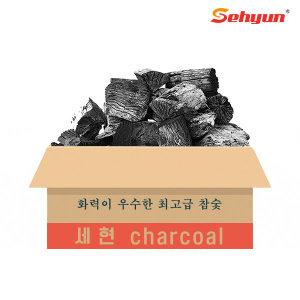 참숯 백탄(중) 10kg/리치 바베큐숯 캠핑용품