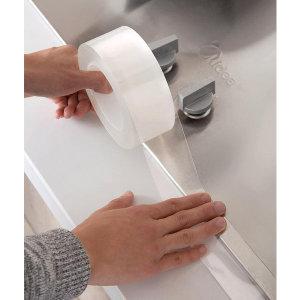 실리콘테이프 투명 방수 틈새차단 곰팡이방지 3cm x3m