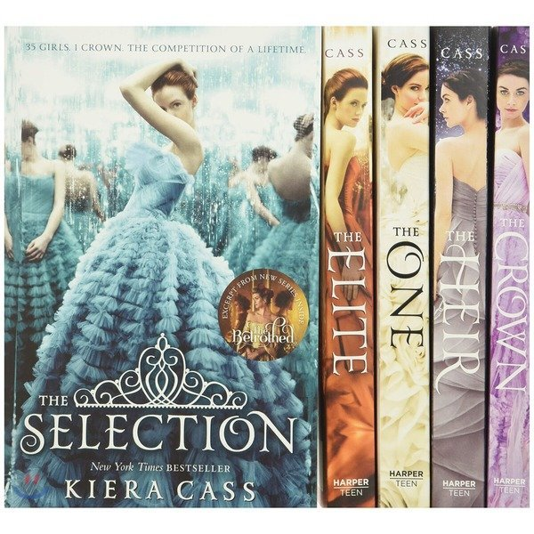 The Selection 5-Book Box Set: The Complete Series : The Selection   The Elite   The One   The H...