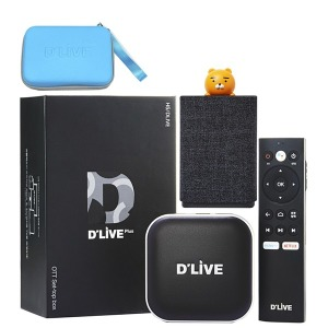 딜라이브 H5 플러스 셋톱박스 4K UHD 넷플릭스 유튜브