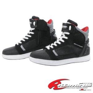 코미네 오토바이 부츠 스니커즈 방수 신발 BK-084 BLK