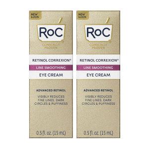 2개 RoC 레티놀 라인스무딩 아이 크림 15 ml 빠른직구