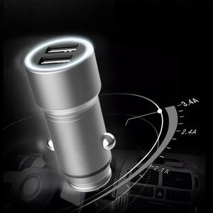 풀메탈 고속충전 시거잭 충전기 차량용 소켓 USB CA04