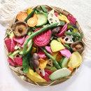 동결건조 9종 과일 야채 믹스칩 과자 150g+150g MD6