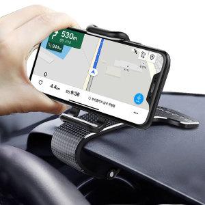 2in1 멀티 차량용 핸드폰 휴대폰 거치대 주차번호판