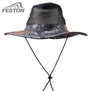 패스톤 망사 정글모자 작업 낚시 모자 자외선차단모자