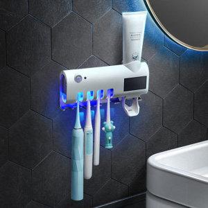 가정용 칫솔살균기 UV살균기 무선 디스펜서
