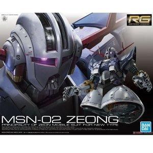 반다이 RG 지옹 건담 MSN-02 ZEONG 프라모델 1/144