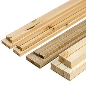 목재 쫄대묶음 미송 소나무 DIY 몰딩 합판