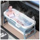 이동식 접이식욕조 반신욕 전신욕 목욕통 특대형8