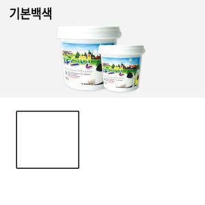 쟈스민락 페인트 0.9리터 항균 곰팡이 가구_기본백색