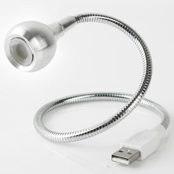 USB 램프 라인형 Super LED 1W Silver Flexible