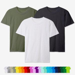 남녀공용 반팔30수 라운드 면티셔츠 무지티 흰티 이너