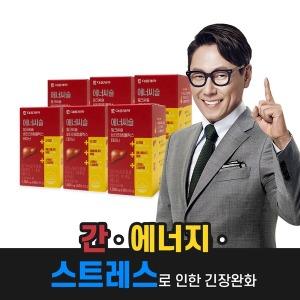 에너씨슬 밀크씨슬 비타민B 6박스/간 에너지 스트레스