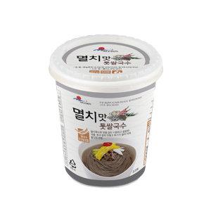청정완도 컵국수 멸치맛 톳 쌀국수 82gX6개
