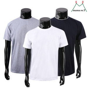 이중에리 비침없는20수 반팔티 남자 티셔츠 남녀 공용
