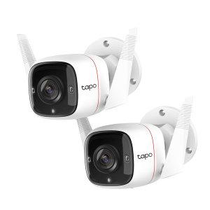Tapo C310 (2팩) 실외 CCTV 무선 가정용 홈 카메라