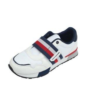 갤러리아  타미힐피거키즈 벨크로 스니커즈 신발(T42B1ASZ170BT1)