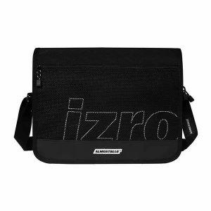 (현대Hmall) 얼모스트블루 X 이즈로  ALMOSTBLUE X IZRO SCOTCH MESSENGER BAG 스카치 메쉬 메신저백