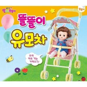 미미월드  쫑알쫑알 똘똘이 유모차 (똘똘이색칠북 증정)  무료배송