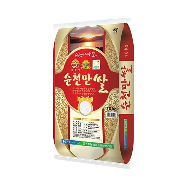 순천만 쌀 10kg 2020년산/상등급/박스포장