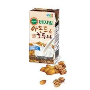 정식품 베지밀 아몬드와호두 두유 190ml x 64팩