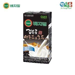 정식품 베지밀 검은콩 아몬드와호두 두유190ml x 64팩