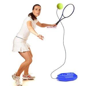 혼자하는테니스 솔로 연습 리턴볼 벽치기 셀프테니스