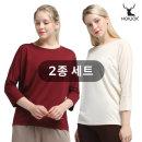 요가복 필라테스복 주디 모달 7부 티셔츠 2종세트