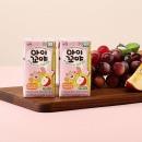 아이꼬야 유기농 베이비주스 30팩(사과포도)+컵홀더