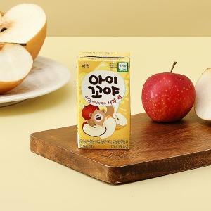 아이꼬야 유기농 베이비주스 30팩(사과배)+컵홀더