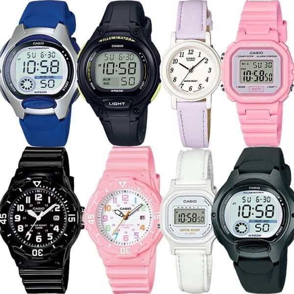 카시오정품 어린이 아동 남자여자학생 전자손목시계