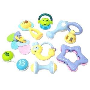 세계유통 우리아기 첫선물 신생아장난감 딸랑이장난감