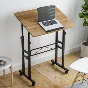 이동식 높이 각도조절 다용도 스탠딩형 책상 테이블