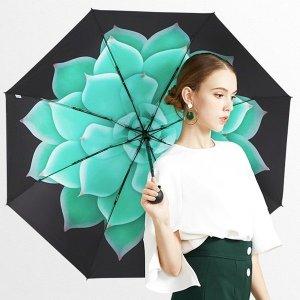 블라썸 자외선차단 암막양산 우양산 3단우산 예쁜우산