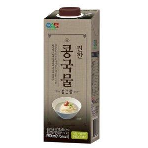정식품 진한 콩국물 검은콩 950ml x 12팩